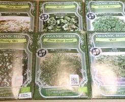スプラウト 種 種子 Amazon 有機種子 オーガニック 無消毒 スプラウト用 送料無料